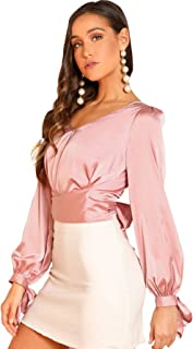 blouse pink womens