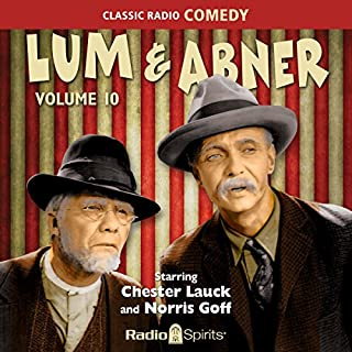 Lum & Abner: Volume 10 audiobook cover art