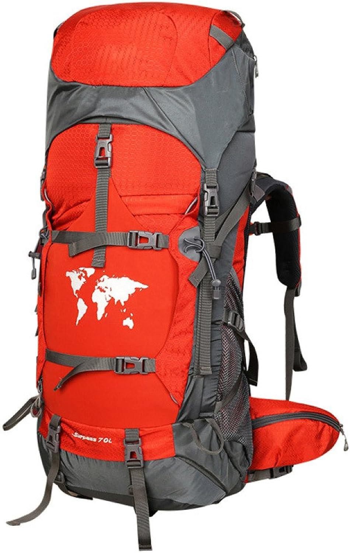 WuJiPeng Männer Und Frauen Outdoor-Klettern Trekking Trekking Trekking Ausrüstung Rucksack Große Kapazität 60L 70L 80L Wandern Camping Rucksack Multi-Funktions-wasserdicht Und Langlebig B07D7WP6DQ  Globale Verkäufe 7228a4