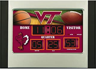 Virginia Tech Hokies Scoreboard Desk Clock