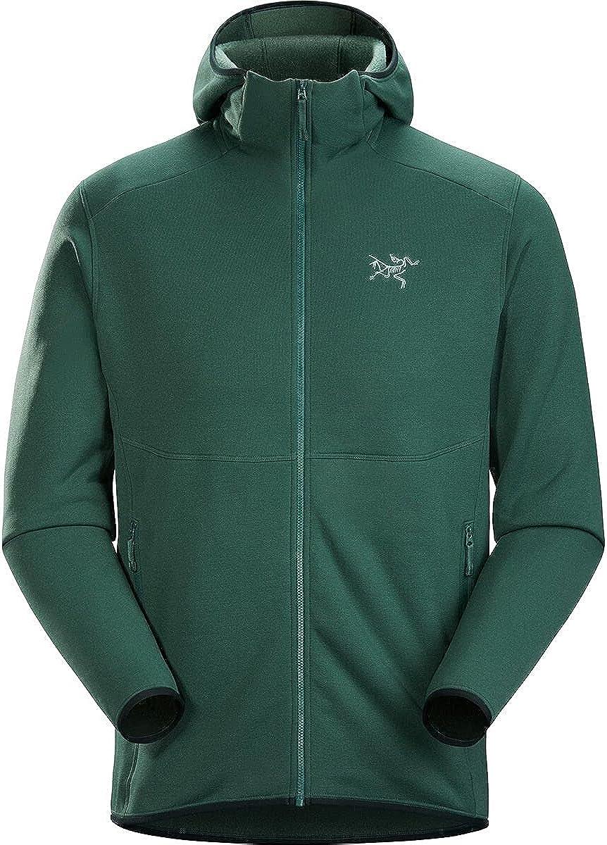 Arc'teryx Kyanite AR Hoody Men's | Durable Stretch Fleece Layering Hoody