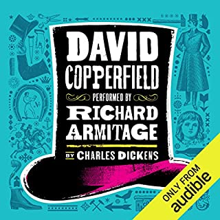 David Copperfield [Audible]                   Written by:                                                                                                                                 Charles Dickens                               Narrated by:                                                                                                                                 Richard Armitage                      Length: 36 hrs and 30 mins     116 ratings     Overall 4.6