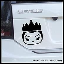 Evil Queen Chibi, Snow White Villain, Vinyl Car/Laptop Decal