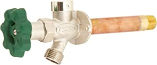 Prier P-164D04 Quarter-Turn Frost Free Anti-Siphon Outdoor Hydrant, 4-Inch