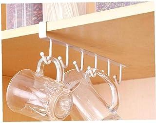BYFRI Multifonctions Fer À Repasser Cuisine Support De Rangement Penderie Crochets Tasse Cooker Couverts Porte-Vaisselle D...