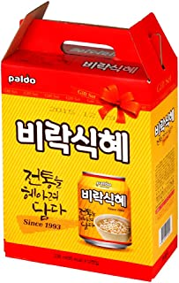 Paldo Sik Hye Korean Rice Punch Drink,  238 ml  (Pack of 12)