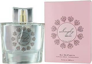 Exceptional Parfums Simply Belle Eau de Parfum Spray, 3.4 Ounce