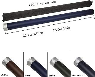 Z Aventik Carbon Fly Fishing Rod Tube(Case) Aluminum Cap – fits Any 9ft 4pcs Fly Rod