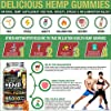 Wellution Hemp Gummies 985,000 High Potency - Fruity Gummy Bear with Hemp Oil, Natural Hemp Candy Supplements for Pain, Anxiety, Stress & Inflammation Relief, Promotes Sleep & Calm Mood #2