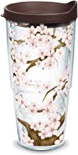 Tervis Tumbler 24 oz with Travel Lid, Cherry Blossom