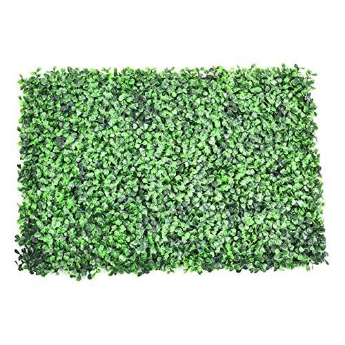 Emulational Ivy Artificial Ivy Leaf Rollos de Pantalla de jardín de plástico, Rollos de paisajismo de Pared Paisajismo de Pared Planta de césped Falso Decoraciones de Fondo de Pared.