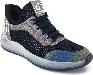 Guja 3131 Günlük Bayan Sneaker Ayakkabı-Siyah Gri