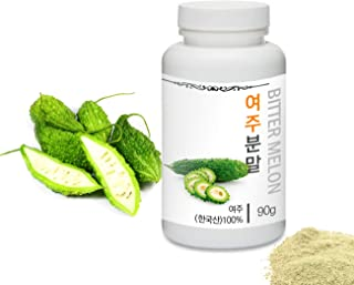 Sponsored Ad - [Medicinal Herbal Powder] Prince Natural Bitter Melon Powder/프린스 여주분말, 3.2oz / 90g (Bitter Melon/여주)