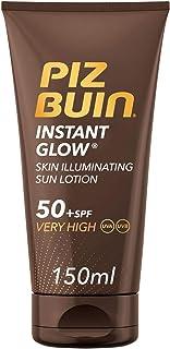 Piz Buin Instant Glow Protector Solar en Loción SPF 50+ Protección Muy Alta 150 ml