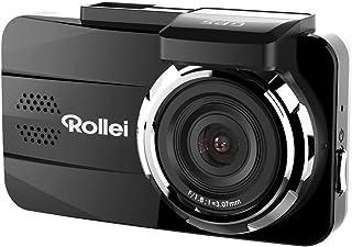 Rollei CarDVR 308   Hochauflösende GPS Auto Kamera (Dashcam, DVR Kamera) mit Full HD Videoaufzeichnung (1080p/30fps), inkl. Bewegungssensor und GPS Modul   Schwarz