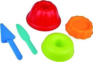 Hape Baker's Trio Sand and Beach Toy Set Toys, Multicolor