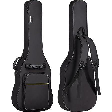 CAHAYA Sac pour guitare électrique Gig Bag Rembourrage de 6mm Sac à dos rembourré Etui souple noir pour guitare
