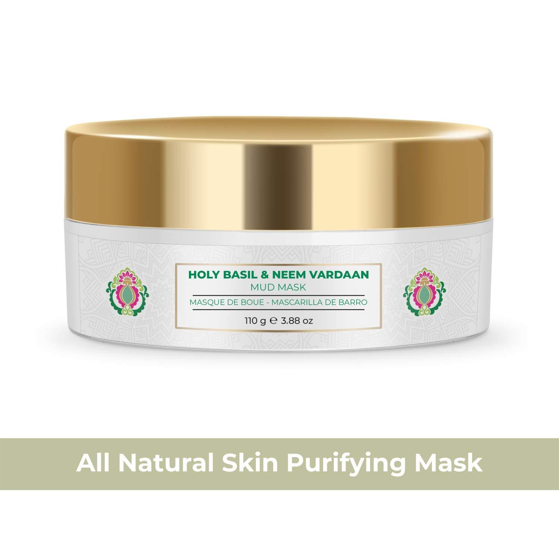 NOURISH MANTRA Holy Basil Neem Vardaan Face Mask Mud Max 49% OFF For Oily Washington Mall