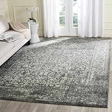 Safavieh Evoke Collection EVK256D Vintage Oriental Grey and Ivory Area Rug (11' x 15')