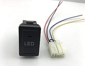 KASILU JIDIAN48 LED Fog Light Radar Parking Sensor Camera Recorder Monitor Music Heating Switch Button for Luxurious Vitar... photo