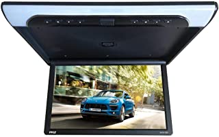 19.4-Inch Overhead Flip-Down Car Monitor - HD 1920x1080p Widescreen Car Roof Mount Monitor, Vehicle Flip Down Overhead Scr...