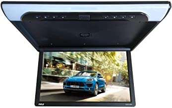 19.4-Inch Overhead Flip-Down Car Monitor – HD 1920x1080p Widescreen Car Roof Mount..