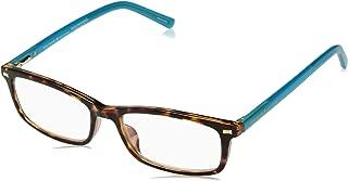 Kate Spade Women's Jodie2 Rectangular Reading Glasses, DKHAVANA, 1