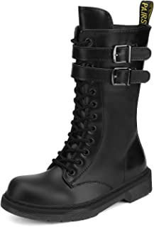 Best mid calf lace up boots Reviews