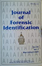 Is There a Relationship Between Fingerprint Donation and DNA Shedding? / Does CA Fuming Interfere with Powder Suspension Processing? / Methods for Developing and Preserving Prints in Petroleum Jelly (Journal of Forensic Identification, Volume 59, Number 2, March/April 2009)