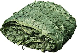 Image of NING Party Camouflage Net Hunting Shooting Camping Wild Hiding Home Decoration Camo Netting Pure Green Camouflage