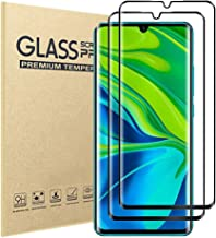 Xiaomi Note 10/Note 10 Pro/CC9 Pro Screen Protector Temple Glass [Perfect Protection] [HD Retina Clarity][Oleophobic Coating][Touch Sensitivity] [2 Pack](Xiaomi Note 10/Note 10 Pro/CC9 Pro)