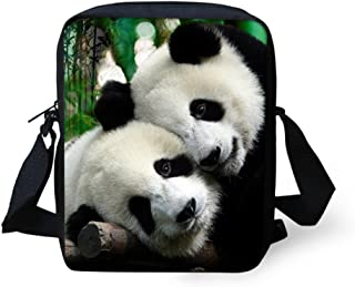 HUGS IDEA Black Cat Mini Messneger Bag Shoulder Handbag Outer Travel Cross Body Bags Purse for Women