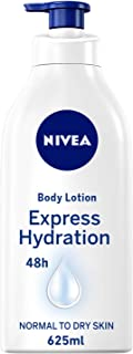NIVEA, Body Care, Body Lotion, Express Hydration, Normal to Dry Skin, 625ml