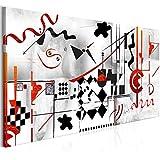 murando Cuadro en Lienzo Abstracto a'la Wassily Kandinsky 150x50 cm 1 Parte...