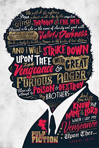 Poster (136r) Pulp Fiction (Ezekiel 25:17) (61x91,5)
