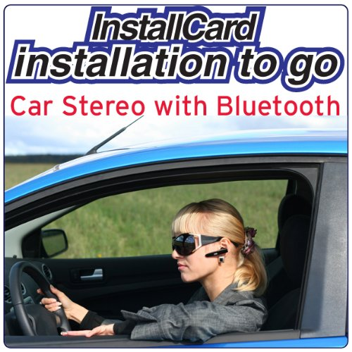 Car Stereo Head Unit w/ Built-in Bluetooth Installation