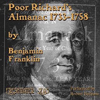 Poor Richard's Almanac audiobook cover art