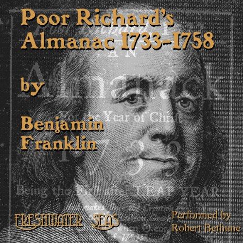 Poor Richard's Almanac audiobook cover art