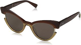 نظارات شمسية من ماكس مارا للنساء ام ام انجريد 70 09Q 49 لون بني