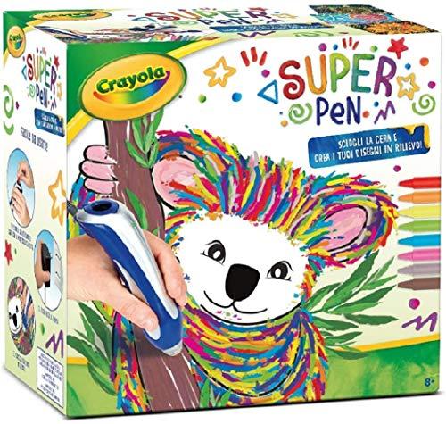 Binney & Smith Super Pen Koala Sciogli i Pastelli a Cera e Crea Disegni Giocattolo Crayola 8+