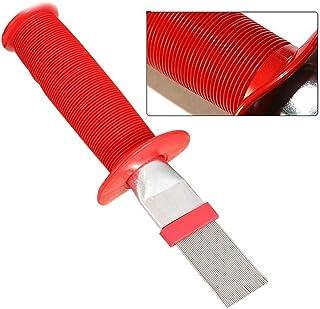 Adminitto88 – Peine de láminas de Metal para Limpieza de Aire Acondicionado, planchas de Condensador de Aire Acondicionado, Cepillo de Limpieza para serpentinas de refrigeración Universal