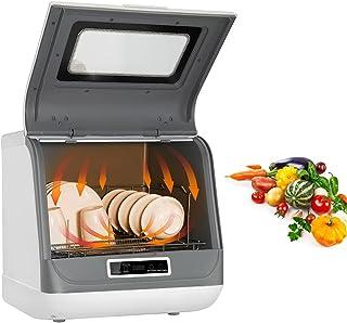 BITOWAT Mini lave-vaisselle standard, classe A/lavage à 360 °/durable, contrôle automatique intelligent pour la cuisine [c...