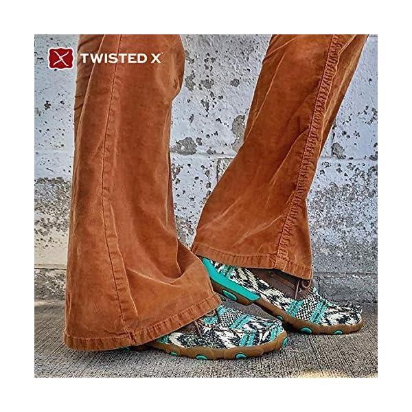 Twisted X Women's Boat Shoe Driving Moc