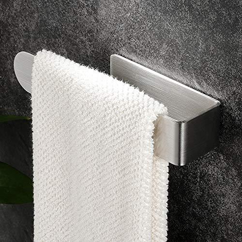 YIGII Handtuchhalter Edelstahl ohne Bohren Handtuchstange Selbstklebend für Badezimmer