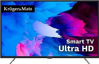 "Telewizor 55"" Smart Tv Kruger&Matz 4K Uhd Dvb-T2/S2,Km0255Uhd-S3,Czarny"