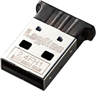 Logitec Bluetooth USBアダプタ コンパクト Ver4.0 Class2 LBT-UAN04C2BK