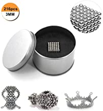 stress relief and childrens intelligence development entertainment activities QUCHENG 5mm creative small metal ball cube desk decompression toy for magnetic whiteboard leisure travel