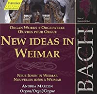 Bach: Organ works - New Ideas in Weimar (Edition Bachakademie Vol 90) /Marcon (2000-01-17)