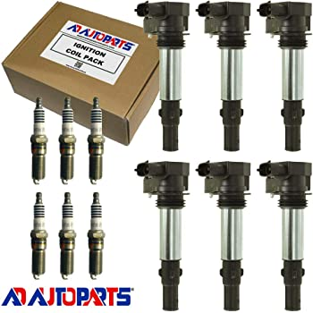 Set of 6 AcDelco Ignition Coil BS-C1508 For Buick Cadillac Chevrolet GMC 04-09