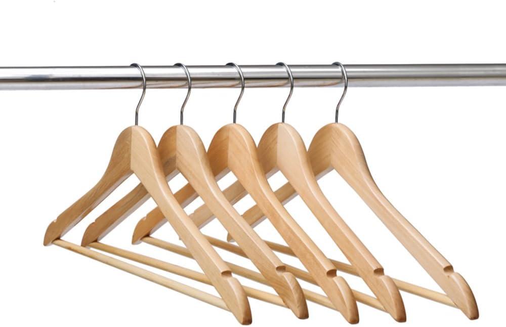 VINUSS Ezihom Gugertree Sale special price Solid Over item handling ☆ Hangers Wooden Suit Coat
